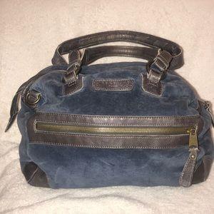 Liebeskind Large Velvet Roomy Bag Purse